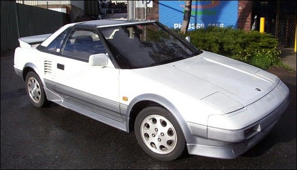Toyota MR2 T-Bar von 1987
