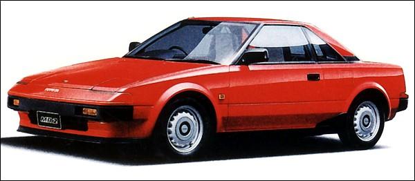 Toyota MR2 1500S von 1985 (AW10)